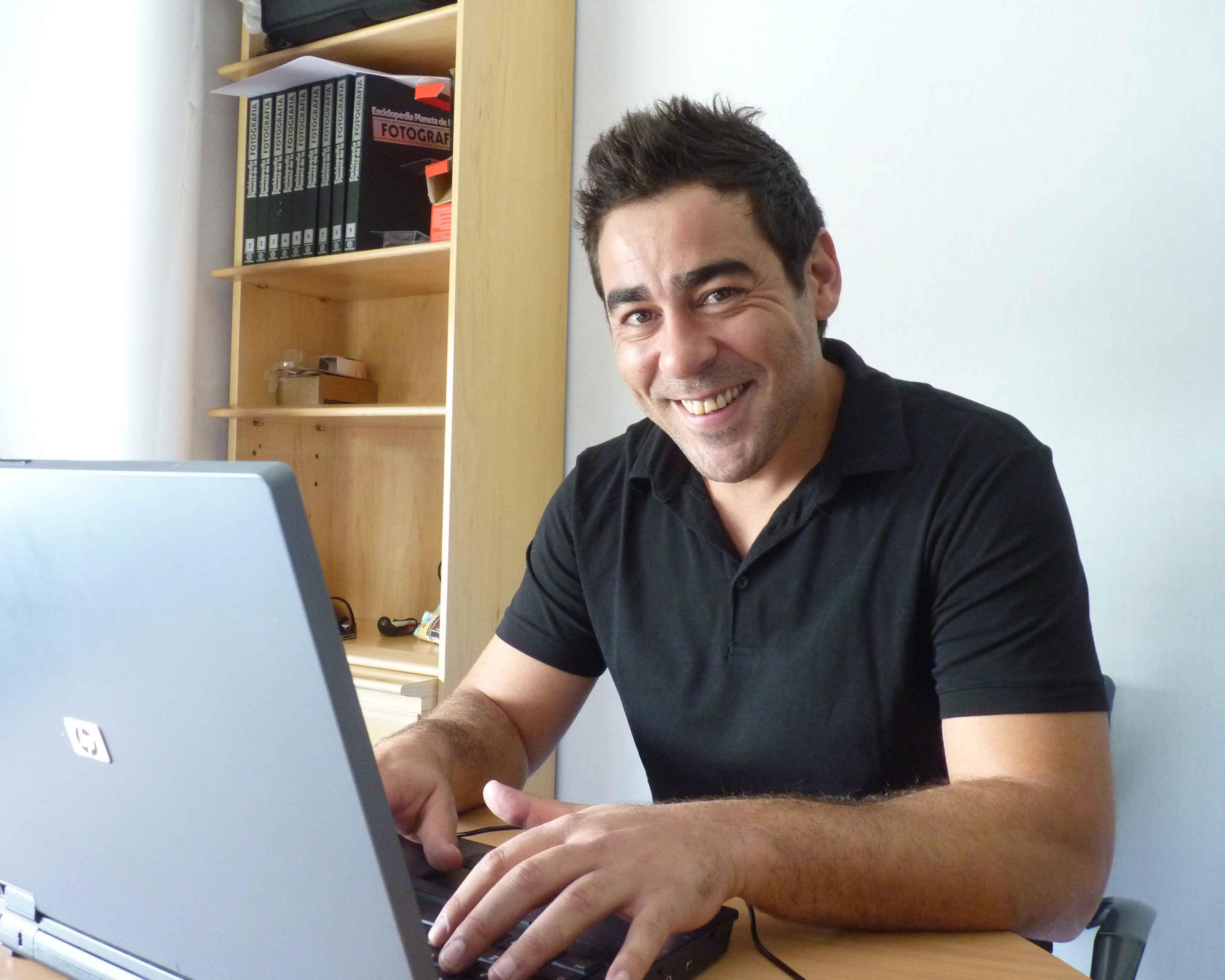 El actor interpreta a Amador Rivas en «La que se avecina»